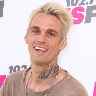 Aaron Carter Breaks Nose In Car Crash