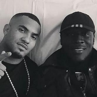Stormzy pays tribute to late actor Aaron Eaton