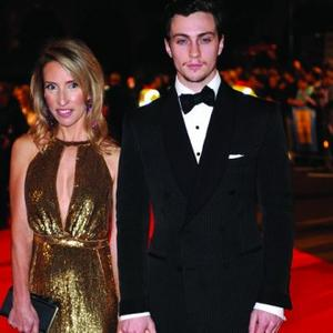 Aaron Johnson Becomes A Dad