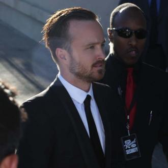 Aaron Paul met 'crush' Rihanna