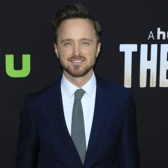 Aaron Paul is in a 'happy place'