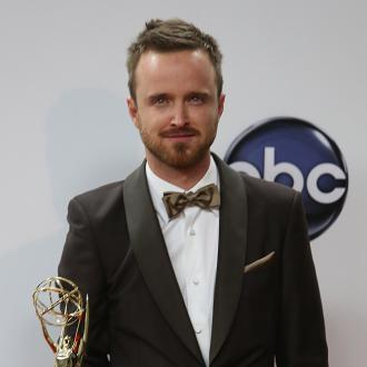 Aaron Paul Enjoys Pre-wedding Dinner