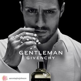Aaron Taylor-Johnson is the face of Gentleman Givenchy fragrance