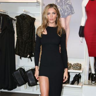 Abbey Clancy's nappy struggle