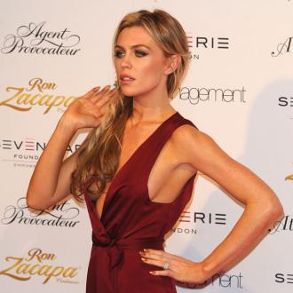 Abbey Clancy does her bit for Children In Need