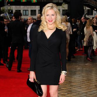 Pregnant Abi Titmuss following healthy diet