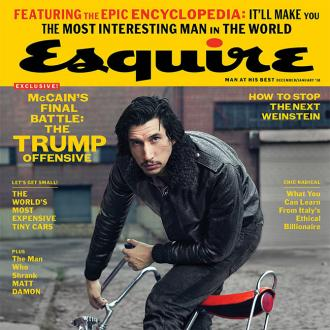 Adam Driver struggles to watch his own movies