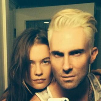 Adam Levine Dyes Hair Platinum Blonde