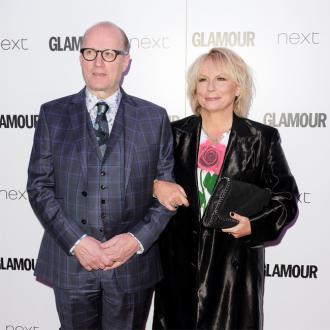 Jennifer Saunders and husband Ade Edmondson avoid arguments