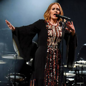 Adele's album isn't finished