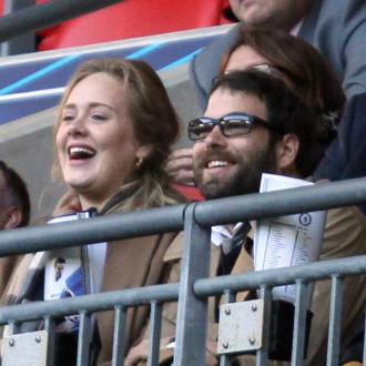 Adele Enjoys Date At Lady Gaga Gig