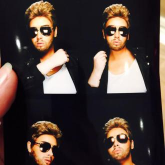 Adele Dresses Up As George Michael For Birthday