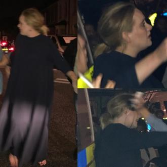 Adele visits Grenfell Tower after horrific fire