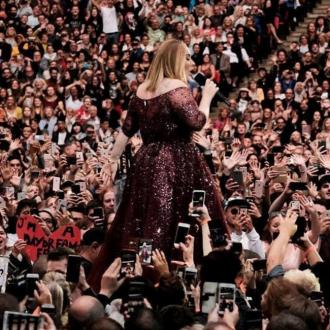 Adele's Wembley dress took 500 hours to make