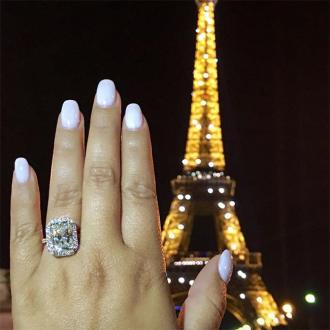 Adrienne Bailon is engaged to Israel Houghton