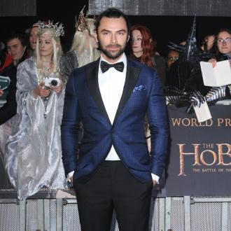 Aidan Turner spent a month 'learning to move like a dwarf'