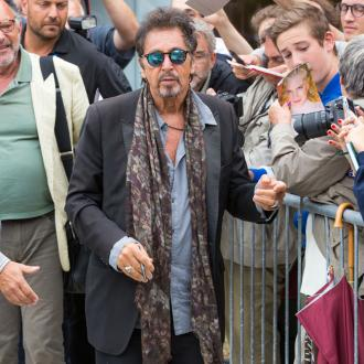 Al Pacino loves his life in the spotlight