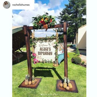 Rochelle Humes throws Moana themed birthday party for Alaia