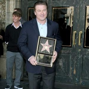 Alec Baldwin Gets Hollywood Star
