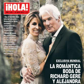 Richard Gere sang to new wife during wedding dance