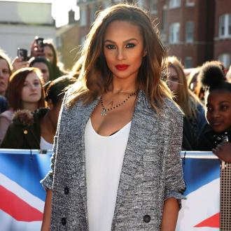 Alesha Dixon Not Dieting To Lose Baby Weight