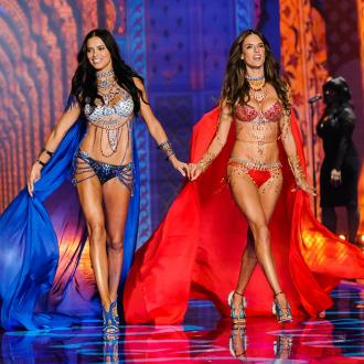 Alessandra Ambrosio and Adriana Lima dazzle at Victoria's Secret Show