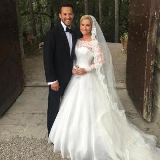 Heidi Range pays tribute to husband on anniversary