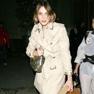 Alexa Chung's Motherly Look