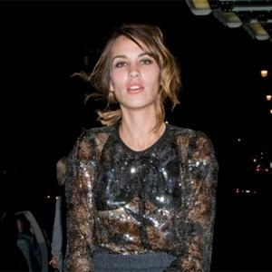 Alexa Chung Dresses Down For Christmas
