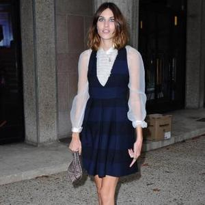 Alexa Chung Attacked Online Over Weight