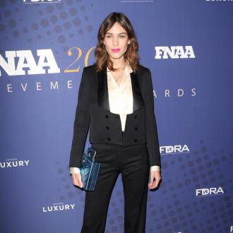 Alexa Chung people should ditch fast fashion for vintage