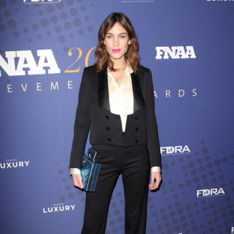 Alexa Chung stashes lipsticks in her pockets and handbags