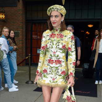 Alexa Chung didn't want to get 'overexcited' with Mulberry collaboration