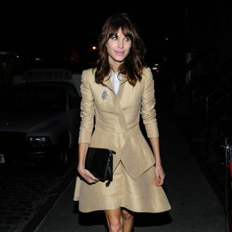 Alexa Chung Prefers 1960s Fashion
