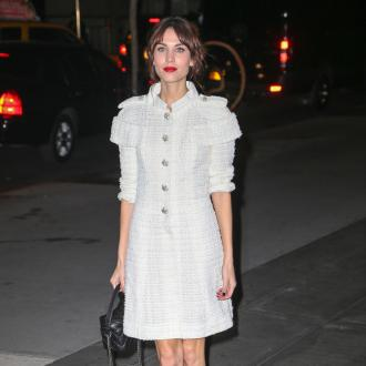 Alexa Chung Wants Her Own Fashion Label