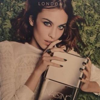 Alexa Chung Fronts Nails Inc. Ad