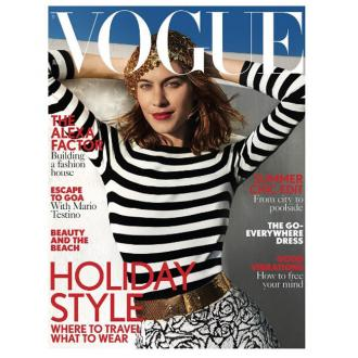 Alexa Chung's Vogue cover branded as 'crap' by Lucinda Chambers