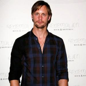 Alexander Skarsgard Jokes Dad Is 'Over The Hill'