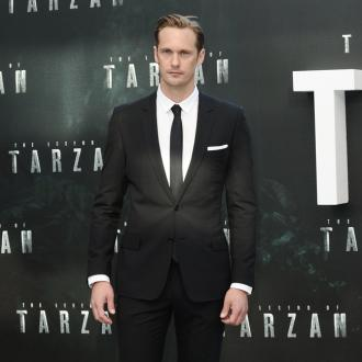 Alexander Skarsgard felt 'uncomfortable' as a child actor