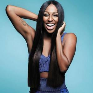 Alexandra Burke Trained To Wear Heels