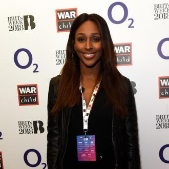 Alexandra Burke Enjoying Engagement