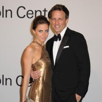Seth Meyers reveals his wife is pregnant