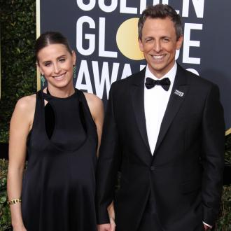 Seth Meyers is a dad again