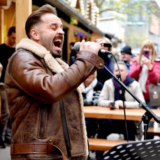Aflie Boe Surprises Shoppers By Busking In City Centre