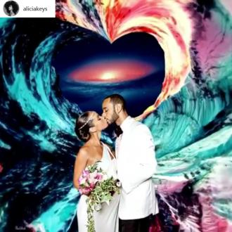 Alicia Keys is 'even more in love' with Swizz Beatz