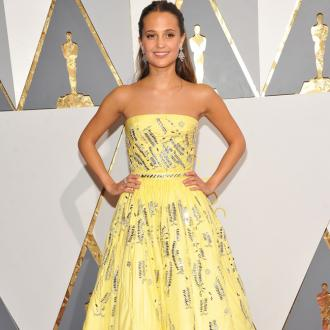 Alicia Vikander hits out at female identity in big films