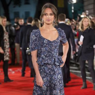 Alicia Vikander 'turned blue' filming Tomb Raider