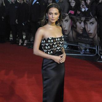 Alicia Vikander feels 'lucky' she never developed an eating disorder