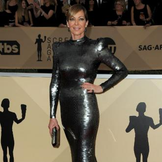 Allison Janney planned SAG dress for Globes