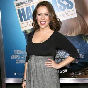 Alyssa Milano Is From 'Planet Mom'